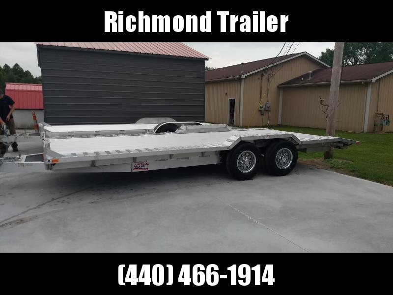2018 American Hauler Industries 8.5x20 Drive Over Equipment Trailer