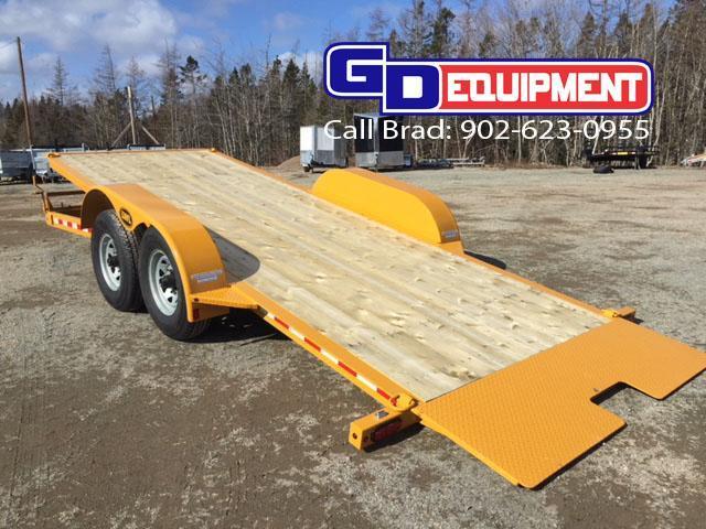 LWL 20ft Full Tilt Deck Equipment Trailer  14K