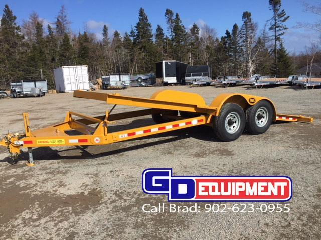 LWL 20ft Full Tilt Deck Equipment Trailer  14K