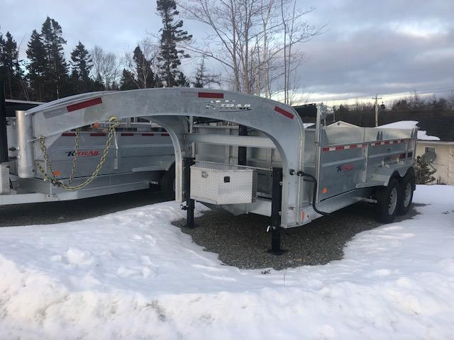 2020 K Trail Gooseneck D8014-14 Dump Trailer