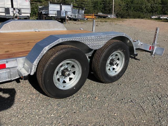 2020 K Trail 16' Car Hauler / Equipment Galvanized