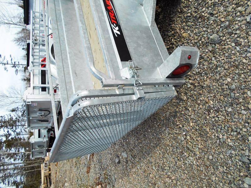 """2020  66""""x123"""" K Trail utility trailer Galvanized"""