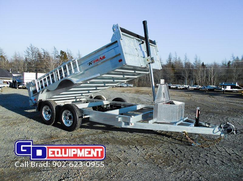 2020 K Trail 6 x 12 Dump - 10000 LB Galvanized