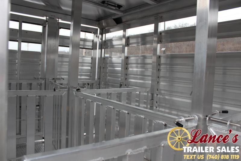 2020 Exiss 11 ft. Mini Low Pro Livestock Trailer