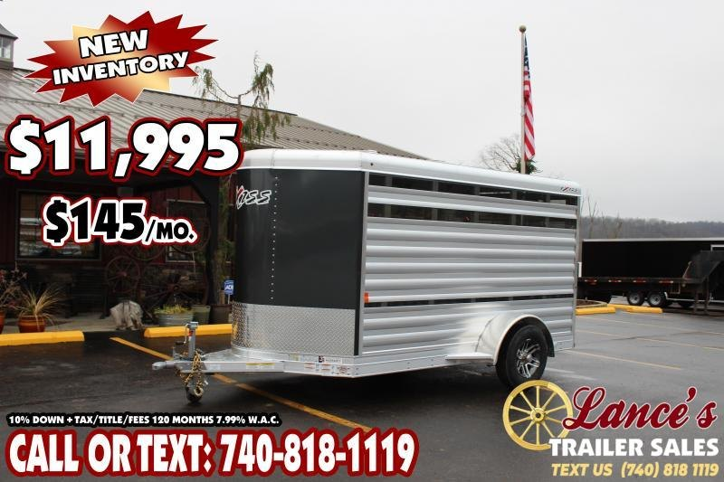 2020 Exiss 11 ft. Mini Low Pro Livestock Trailer