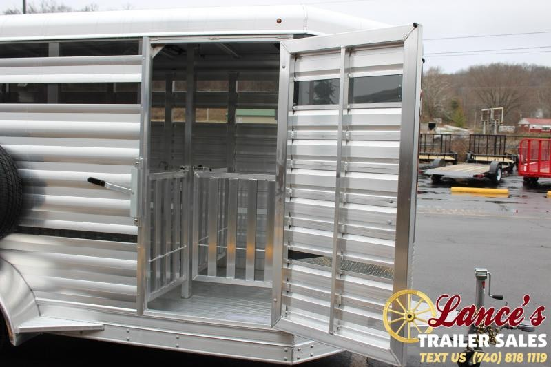 2020 Exiss Trailers Mini 11 ft. Low Pro Livestock Trailer