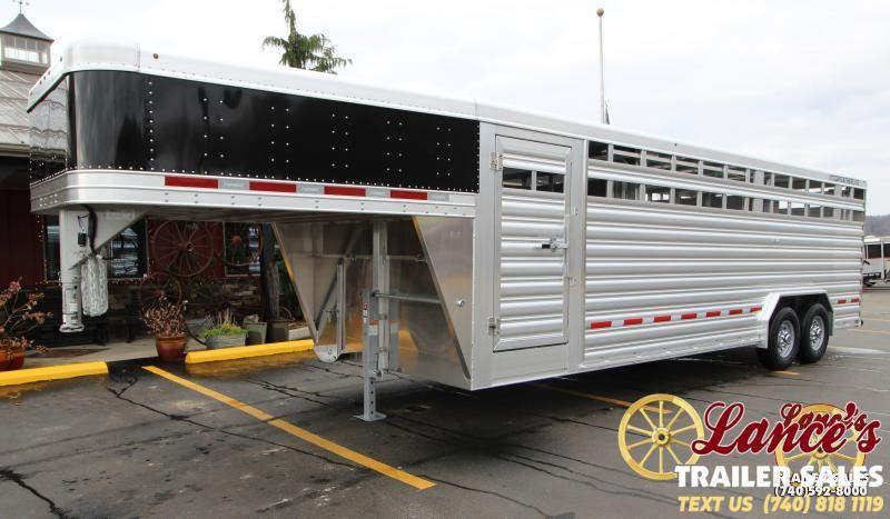 2020 Featherlite 8'x24' Show Cattle Trailer