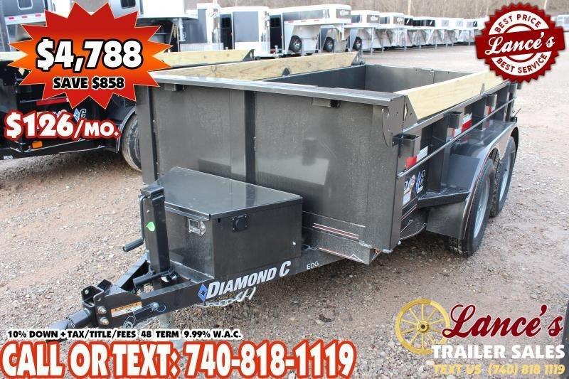 "*DEMO* 2020 Diamond C 60""x10' Dump Trailer"