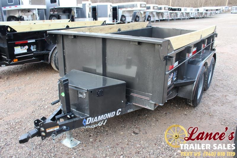 "*DEMO* 2020 Diamond C 60""x10' Dump Trailer"