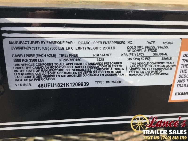 "2020 Diamond  C  83"" X 18' Open Car Hauler"
