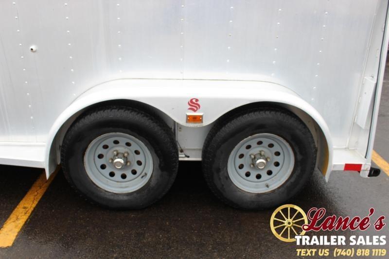 1995 Sooner 2 Horse slant load Trailer bumper pull