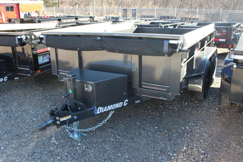 2019 Diamond C 10 Ft. Deluxe Dump Trailer