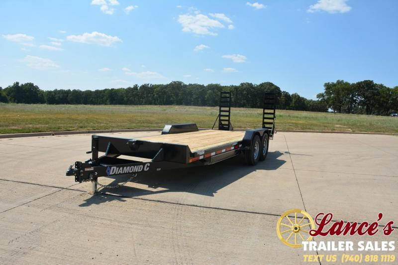 2020 Diamond C Trailers EQT207L24X82 Equipment Trailer
