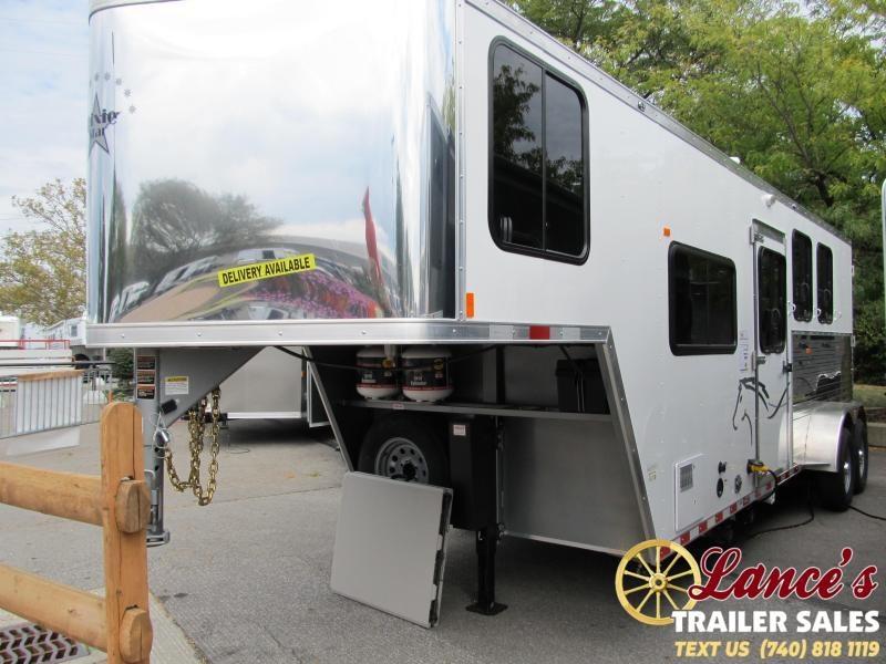 2020 Harmar 7306 DLX Living Quarter Horse Trailer