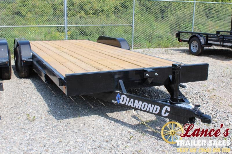 "2020 Diamond C 83"" x 18Ft. OPEN CAR Hauler"