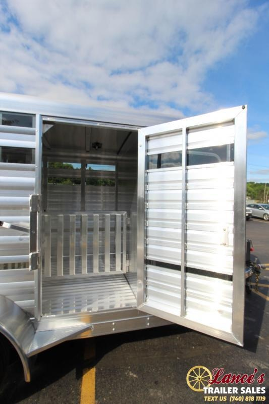 2020 Exiss 15Ft. Mini Combo Exhibitor Low Pro Show Bumper Livestock Trailer