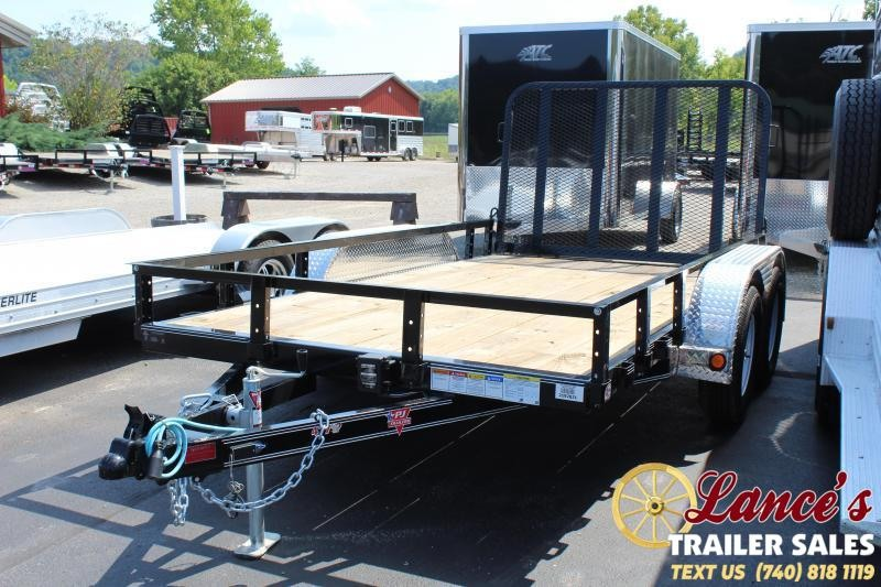 2020 PJ Trailers UK122 Utility Trailer