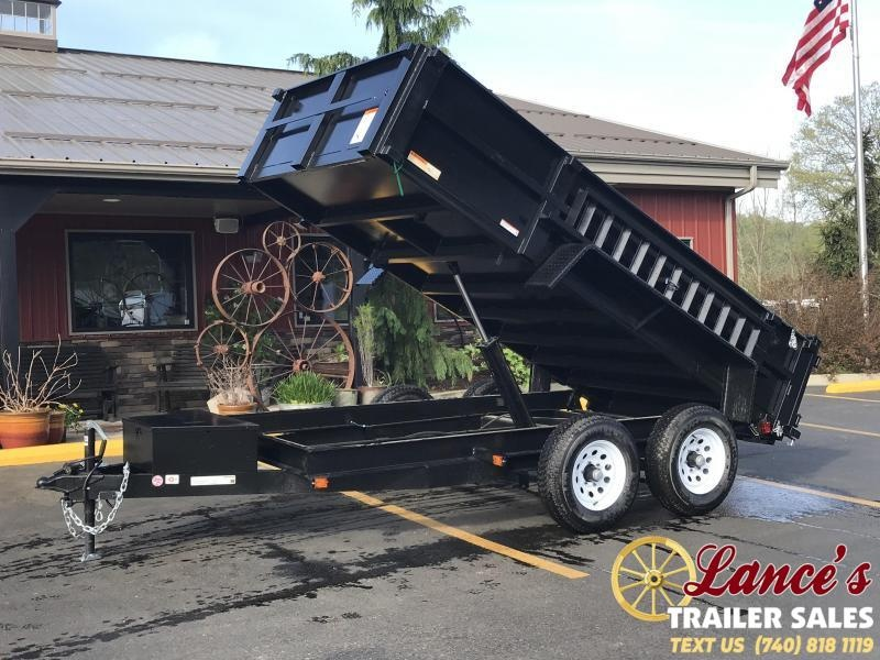 2019 6'x12' LOW PRO VALUE DUMP TRAILER