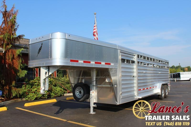 2020 Featherlite 24 Ft. Livestock Trailer
