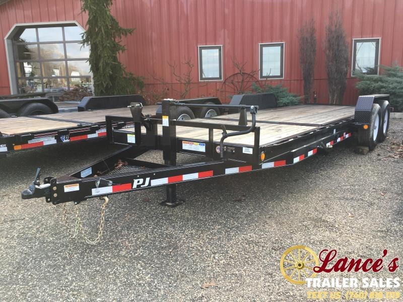 "2019 PJ 82""x22' 6"" Channel Tilt Equipment Trailer K3034949"