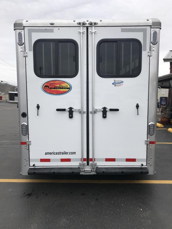 2020 Sundowner Super Sport 4 Horse Trailer