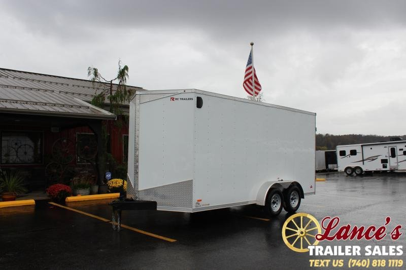 2020 RC Trailers 16Ft. Enclosed Cargo Trailer
