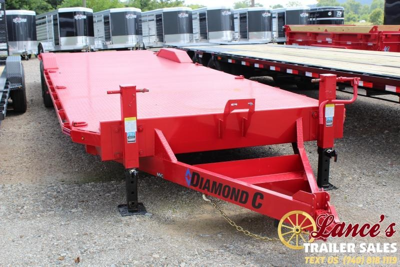 "2019 Diamond C 82"" x 32Ft. Open Car Hauler"