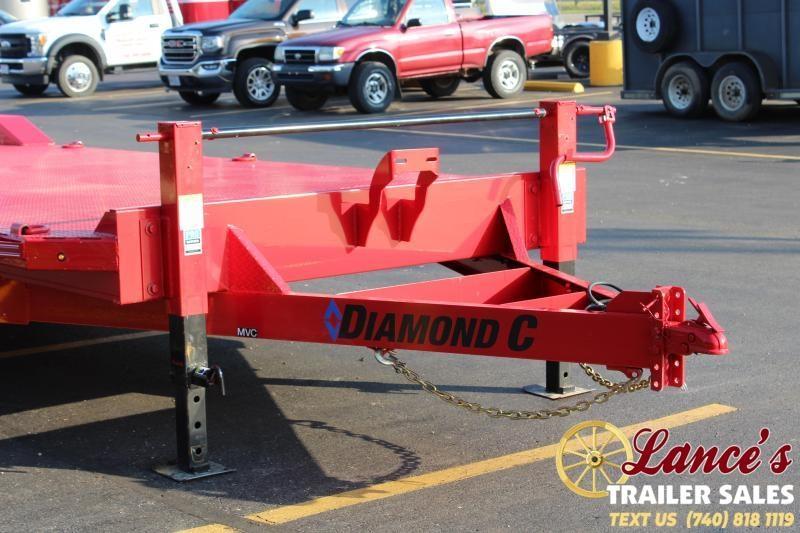 "2019 Diamond C 82"" x 32Ft. Open Car Hauler"