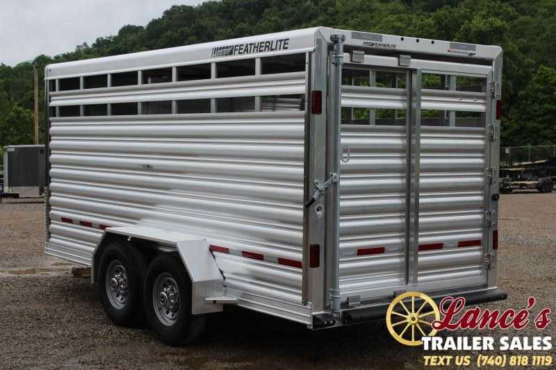 2020 Featherlite 16 Ft. Livestock Trailer