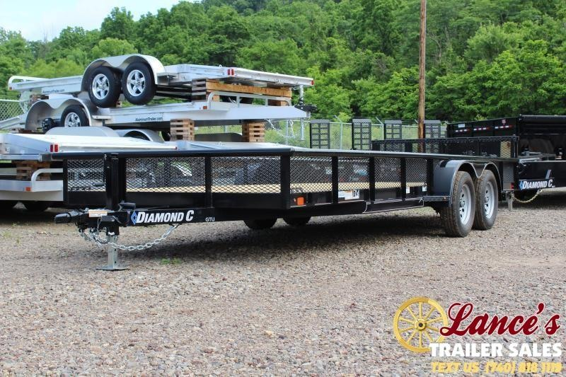 "2019 Diamond C 83"" x 20Ft. TANDEM- Utility Trailer"