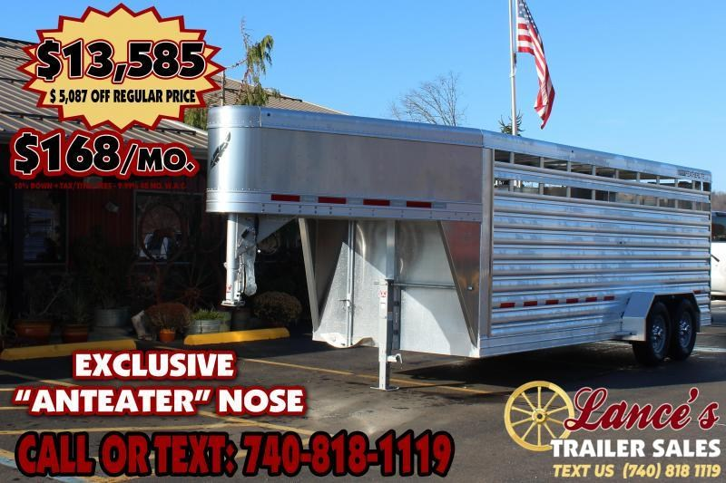 2020 Featherlite 8117 20ft. Livestock Trailer