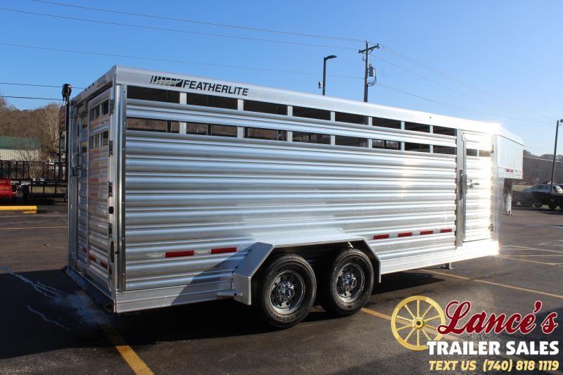 2020 Featherlite 8117 20ft. Livestock Trailer