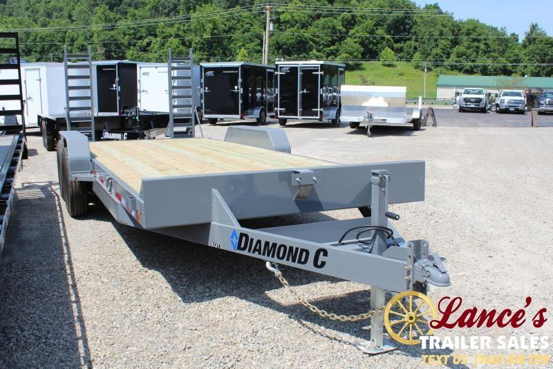 "2020 Diamond C 20'x82"" Equipment Trailer"
