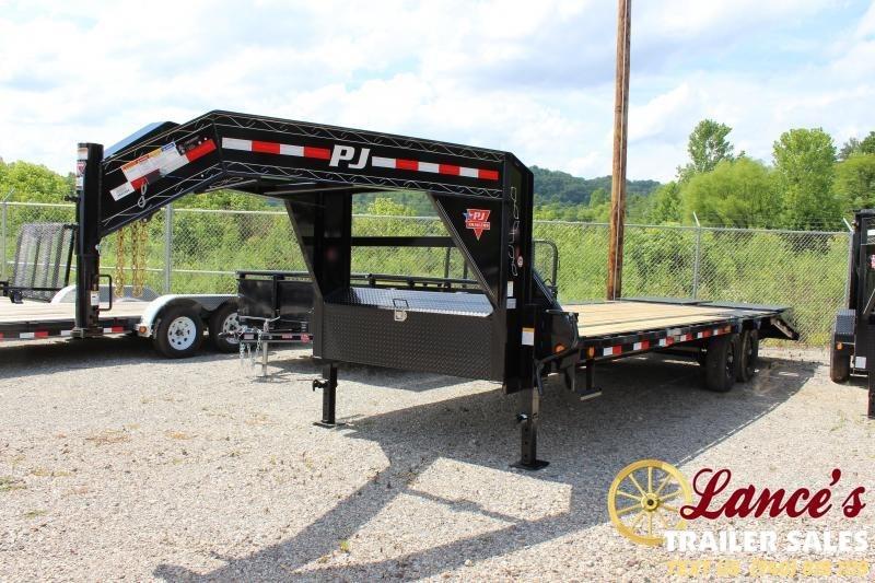"""2020 PJ 102"""" x 25 Ft. Equipment Trailer"""