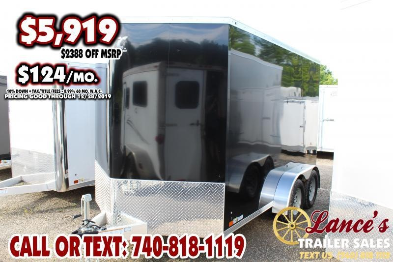 2020 ATC 7Ft. x 12Ft. Enclosed Cargo Trailer