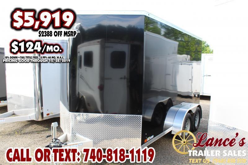 2020 ATC 7Ft. x 12Ft. Enclosed Cargo Trailer
