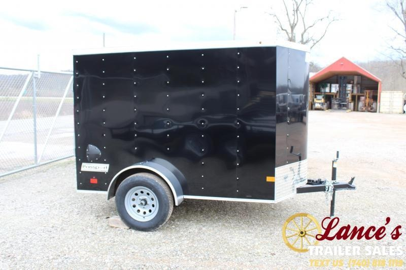 2020 Haulmark 5'x8' Enclosed Cargo Trailer