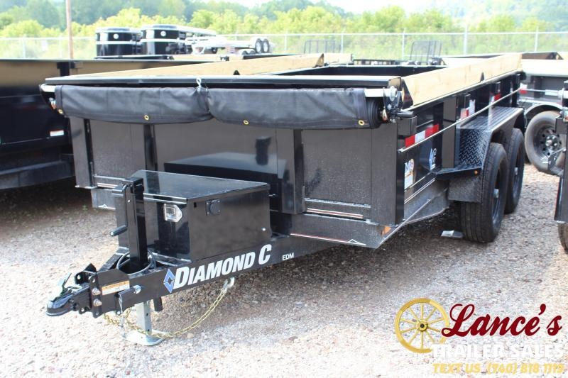 2019 Diamond C 77x12 Deluxe Dump Trailer