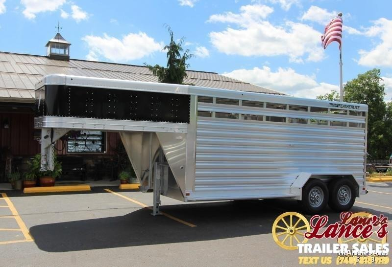 2020 Featherlite 16 Ft. Livestock Trailer