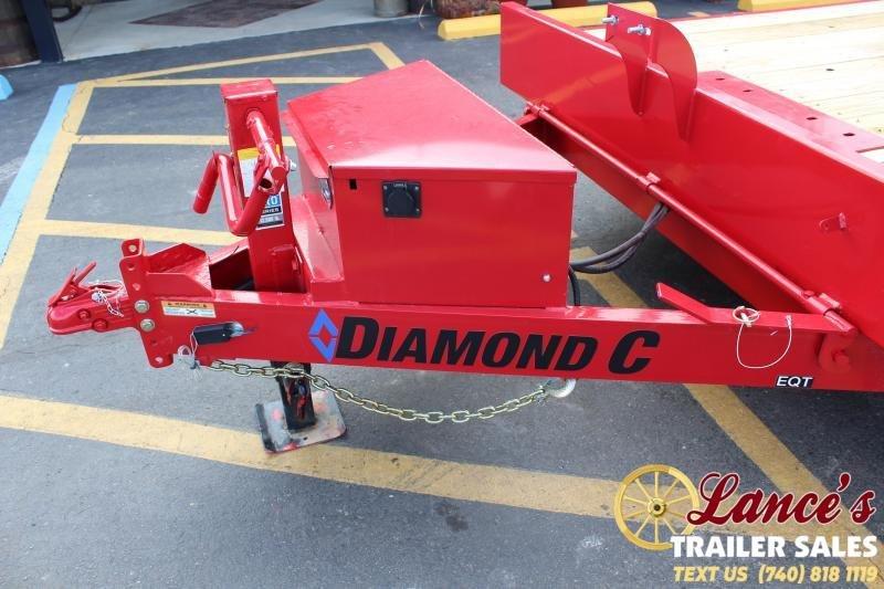 """2020 DIAMOND C 82"""" x 24Ft. TILT EQUIPMENT TRAILER"""