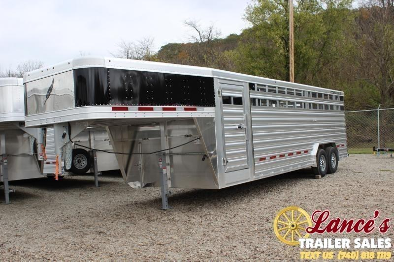 2020 Featherlite 8Ft. wide x 24Ft.  Livestock Trailer