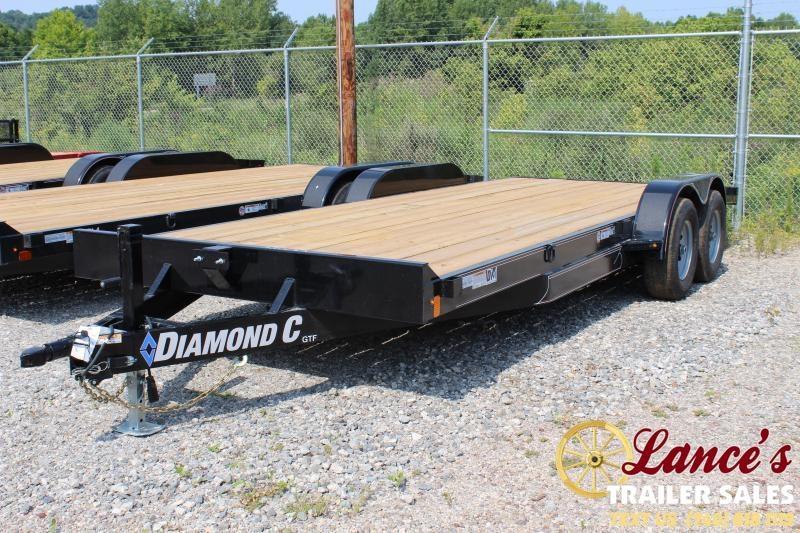 "2019 Diamond C Trailers 20'x82"" Open Car Trailer"