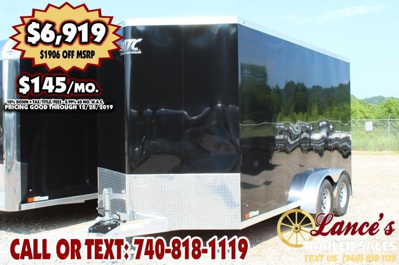 2020 ATC 7Ft. x 14Ft. Enclosed Cargo Trailer