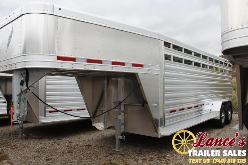 2020 Featherlite 20Ft. Livestock Trailer