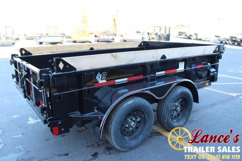 2019 Diamond C 10 Ft. Dump Deluxe Trailer