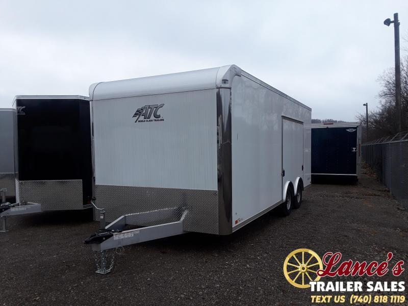 """2019 ATC 8'5""""x20' Enclosed Car Hauler"""