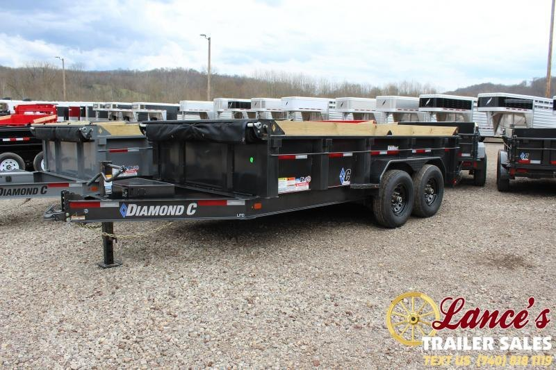 "2020 Diamond C 82""x14' Dump Trailer"
