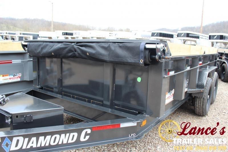 """2020 Diamond C 82""""x14' Dump Trailer"""