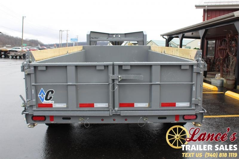 "2020 Diamond C 82""x16' Dump Trailer"