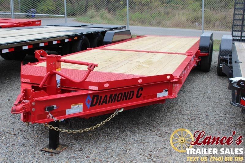2020 Diamond C Trailers 24Ft. Equipment Trailer